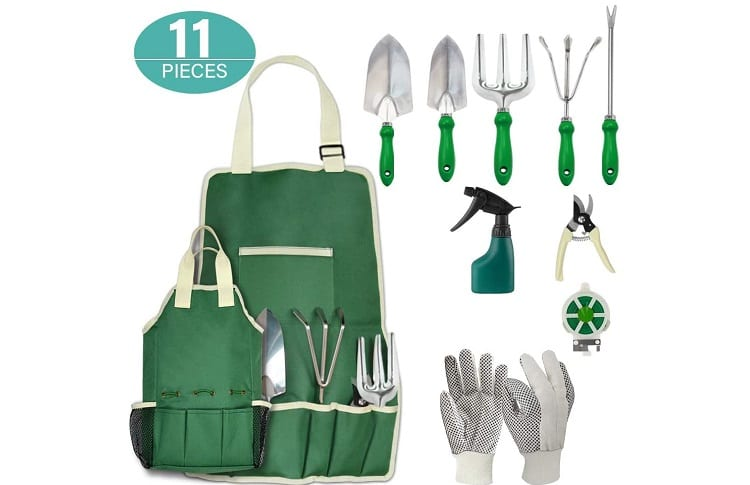 11Pcs Garden Hand Tool Set Equipment