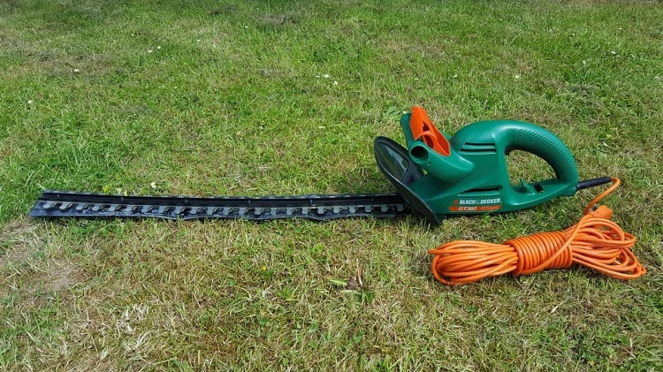Green Electric Hedge Trimmer