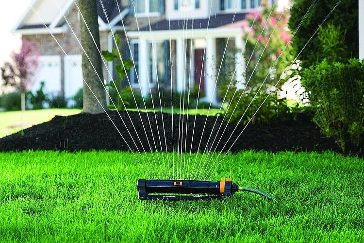 Using Sprinkler System