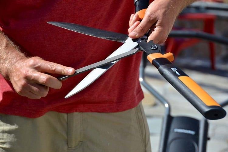 Garden Tool Sharpening