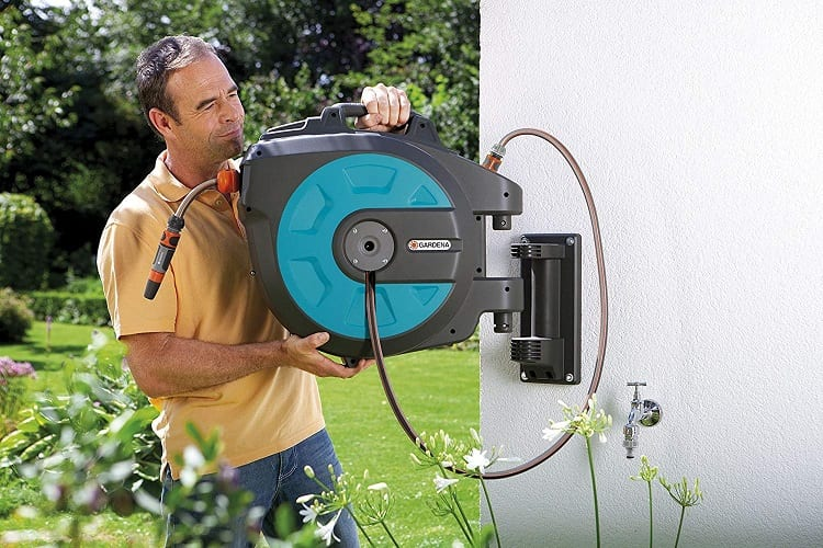 Putting Hose Reel On The Wall