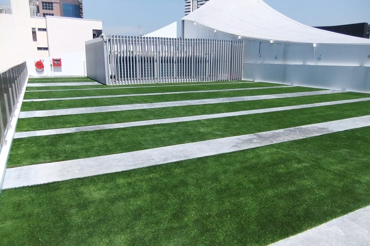 INSTALL A ROOFTOP LAWN