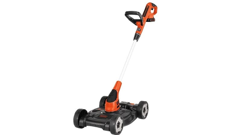 Black and Decker 3 in 1 Mower, Trimmer, and Edger