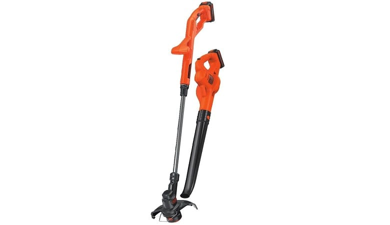 Black and Decker 20V Trimmer and Sweeper
