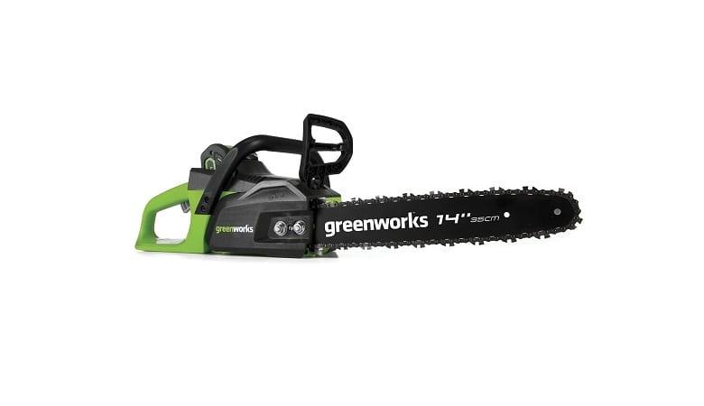 Greenworks 14 Inch Cordless Chainsaw