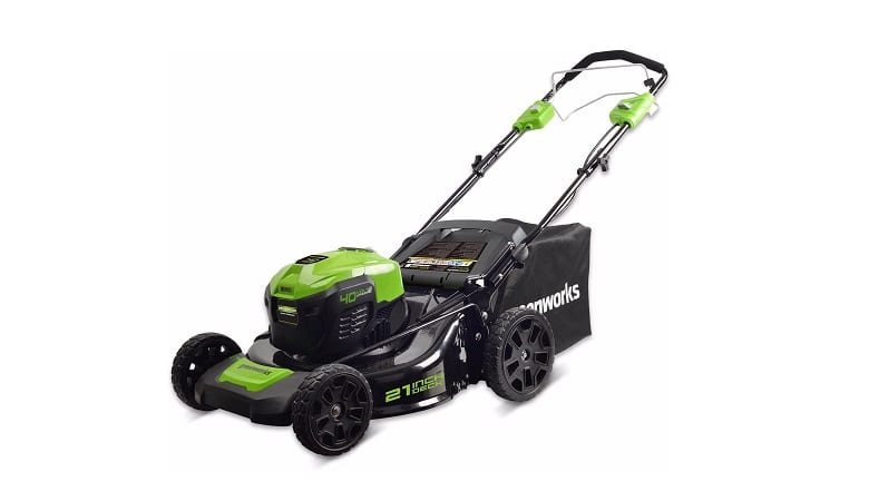 Best Electric Start Self Propelled Lawn Mower 1