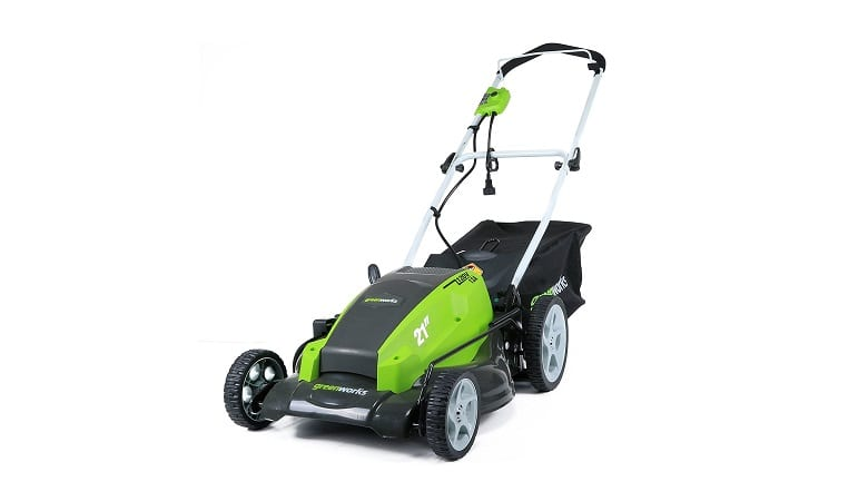 Greenworks 21 Inch Corded Electric Mower
