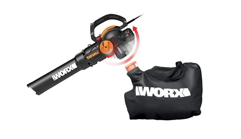 Worx Trivac 2.0 Leaf Blower, Mulcher and Vacuum
