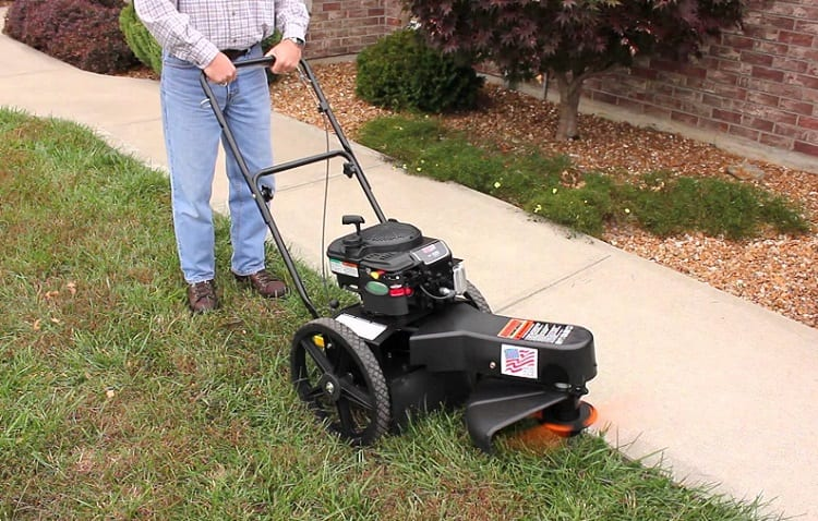 CAN YOU MOW YOUR LAWN WITH A TRIMMER?