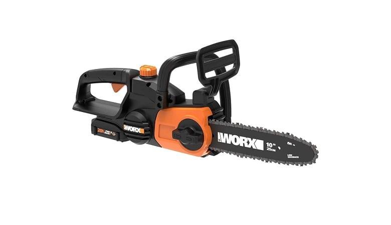 Worx 10 Inch Cordless Chainsaw