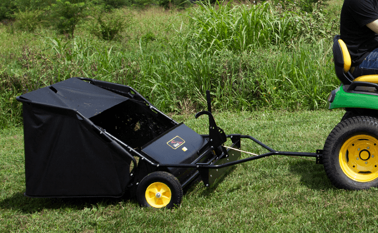 WILL LAWN SWEEPERS PICK UP NUTS?