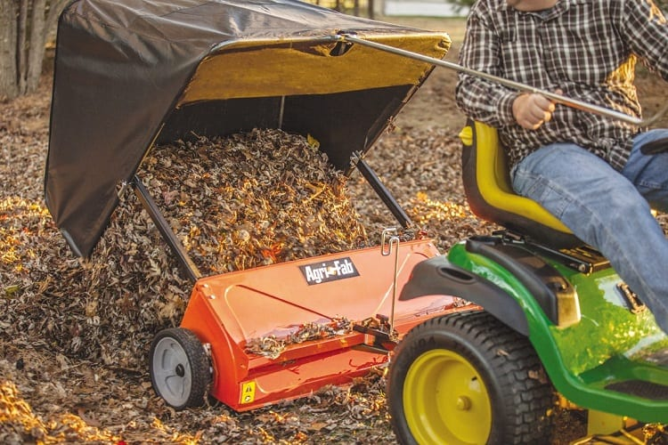 HOW DO LAWN SWEEPERS WORK?