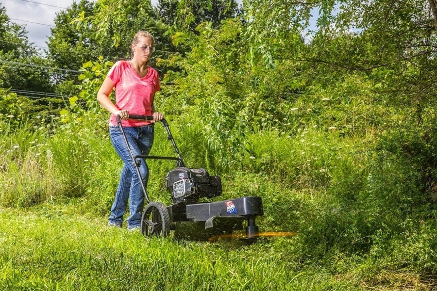 Best Walk Behind String Trimmer: Clearing Grass Fast