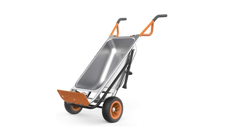 Top 6 Garden Carts and Wheelbarrows For Your Garden In 2021 4