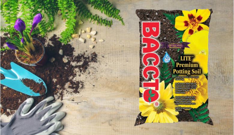 Baccto Lite Premium Potting Soil Gardern soil