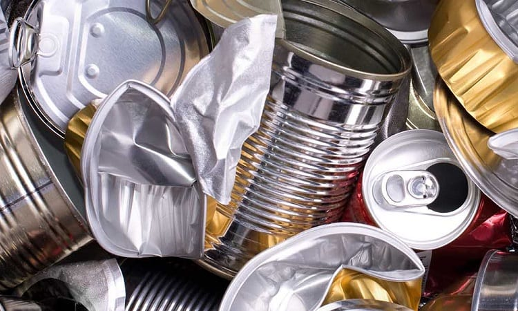 RECYCLED CAN DRAINAGE