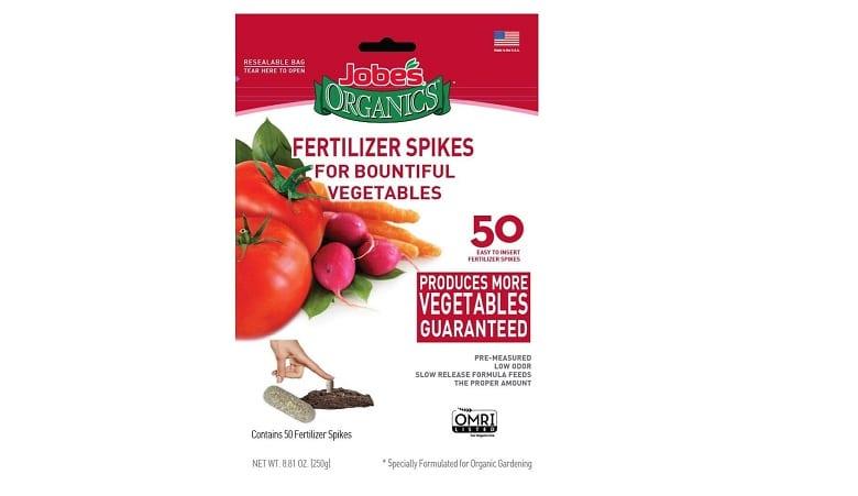 Jobes Organics Fertilizer Spikes