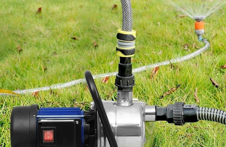 installation of sprinkler pump